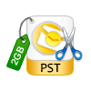 Size wise Split Outlook PST File
